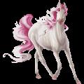 Winged riding unicorn Black Blanket