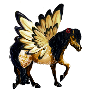 Pegasus-Reitpferd Berber Dunkelbrauner