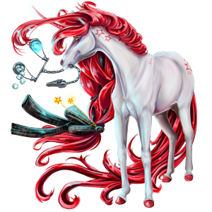 Jednorożec kuc Koń fiordzki Brunblakk