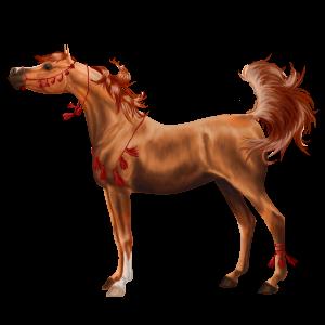 Верховая лошадь Голландская теплокровная Рыжая