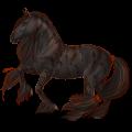 Pegasus Lusitano Cremello