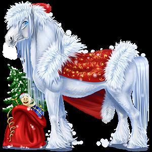 Cheval de trait Drum Horse Bai