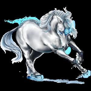 Riding unicorn Paint Horse Dark bay Tovero