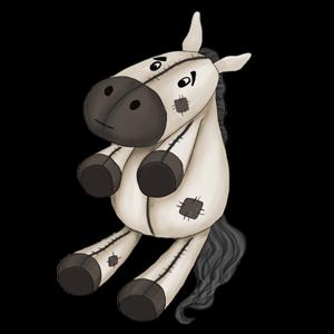 Pony Connemara Roan