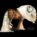 Koń pociągowy Shire Kara