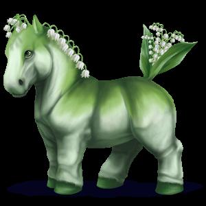Pegasus-ponny Newfoundland-ponny Apelgrå