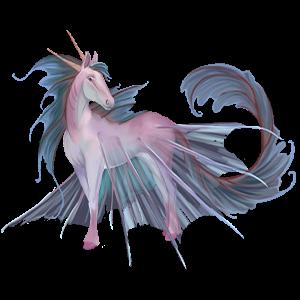 Winged unicorn pony  Haflinger Flaxen Chestnut