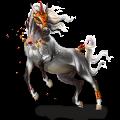 Unicornio de montar Pura raza española Bayo tostado
