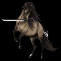 Koń wierzchowy Koń pełnej krwi angielskiej Cremello