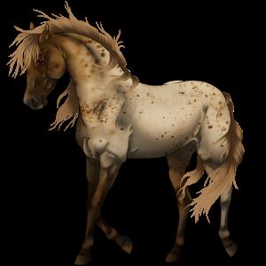 Riding Horse Morgan Flaxen Chestnut