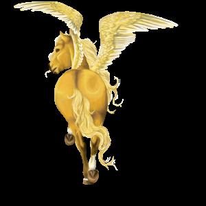 Pegasus Französischer Traber Fuchs
