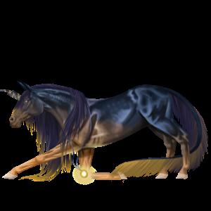 Rijpaard-eenhoorn IJslander Wildkleur