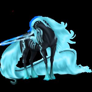 Unicorno pony alato  Fjord Brunblakk