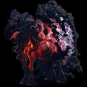 Pégaso de tração Percheron Tordilho negro