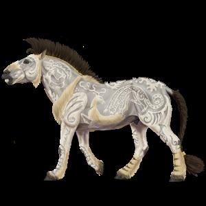 Pony Connemara Fleabitten Gray