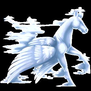 Pégase de selle Paint Horse Pie Tobiano Bai Brûlé