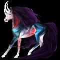 Riding unicorn Thoroughbred Chestnut