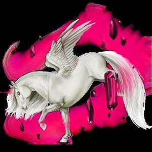 Okřídlený poníkorožec  Connemara Myšák
