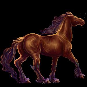 Riding Horse Tennessee Walker Dark Bay