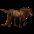 Pégase de trait Drum Horse Bai