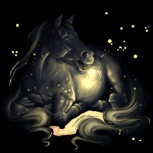 Poník Novofoundlandský pony Bělouš