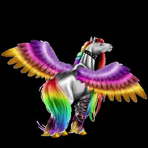 Draft Pegasus Drum Horse Bay Tovero