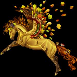 Pegasus-Reitpferd Argentinischer Criollo Rappe