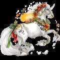 Unicorn pony Haflinger Flaxen Chestnut
