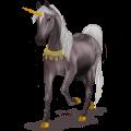 Unicorn pony Haflinger Palomino