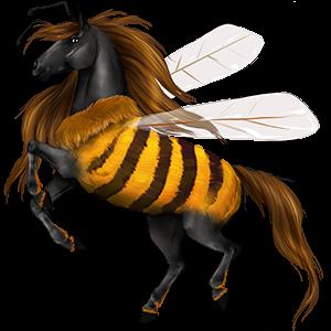 Jezdecký pegas Francouzský jezdecký kůň Palomino