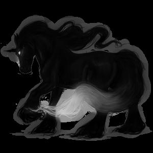 Riding unicorn Thoroughbred Dun