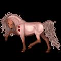 Riding Horse Hackney Roan