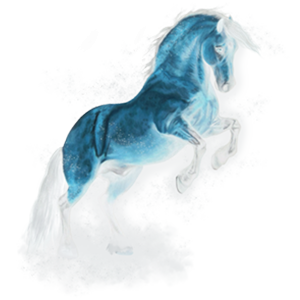 Pony Welsh Light Gray