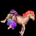 Pegaz wierzchowy Koń luzytański Gniada
