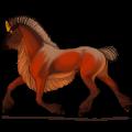 Unicorn Icelandic Horse Cremello