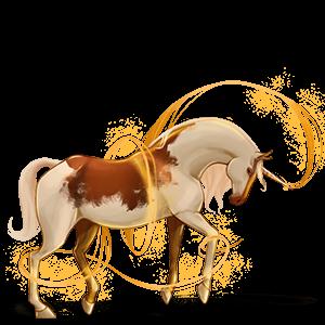 Rijpaard-eenhoorn Nokota Bruin