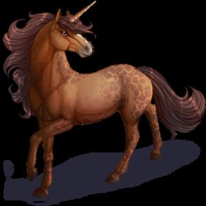 Pony-eenhoorn Kerry Bog Kastanje
