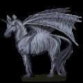 Winged unicorn pony  Bay