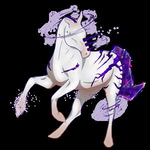 Riding unicorn Appaloosa Chestnut Blanket