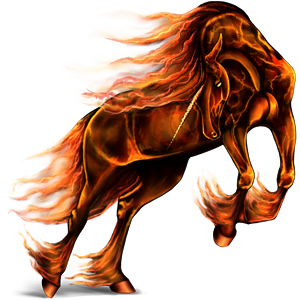 Draft unicorn Shire Black