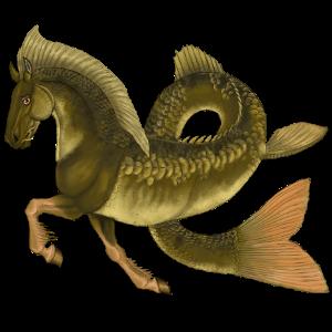 Cheval de trait Drum Horse Gris Souris