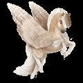 Pegasus pony Welsh Light Grey