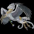 Pegaz wierzchowy Koń luzytański Skarogniada