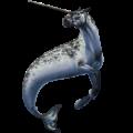 Licorne de trait Shire Noir
