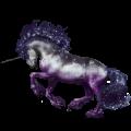 Riding unicorn Vanner Palomino Tobiano