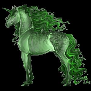 Riding unicorn Selle Français Chestnut