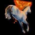 Cheval de selle Paint Horse Pie Noir Tobiano
