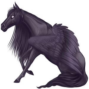 Pegasus pony Welsh Mouse Gray