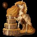 Gevleugelde pony-eenhoorn  Welsh Gestippeld grijs