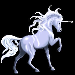 Riding unicorn